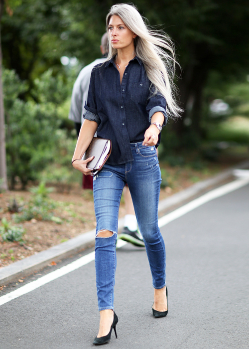 look denim