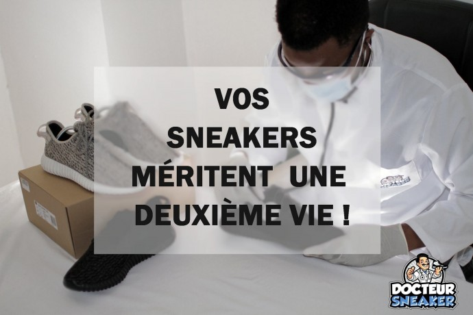Docteur sneakers Toulouse baskets customisation nettoyage