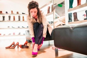PROD-Woman-trying-on-shoes-in-store