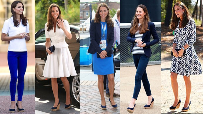 escarpins Weitzman Kate Middleton