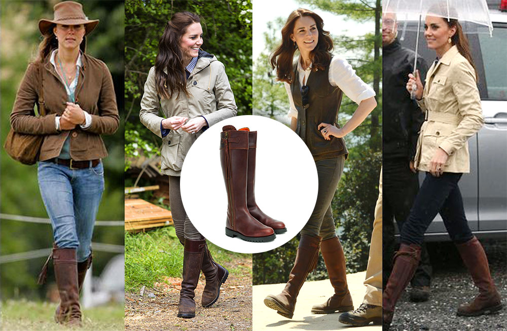 bottes Penelope Chilvers Kate Middleton