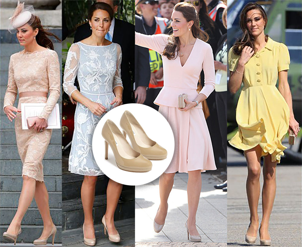 Escarpins LK Bennett Kate Middleton