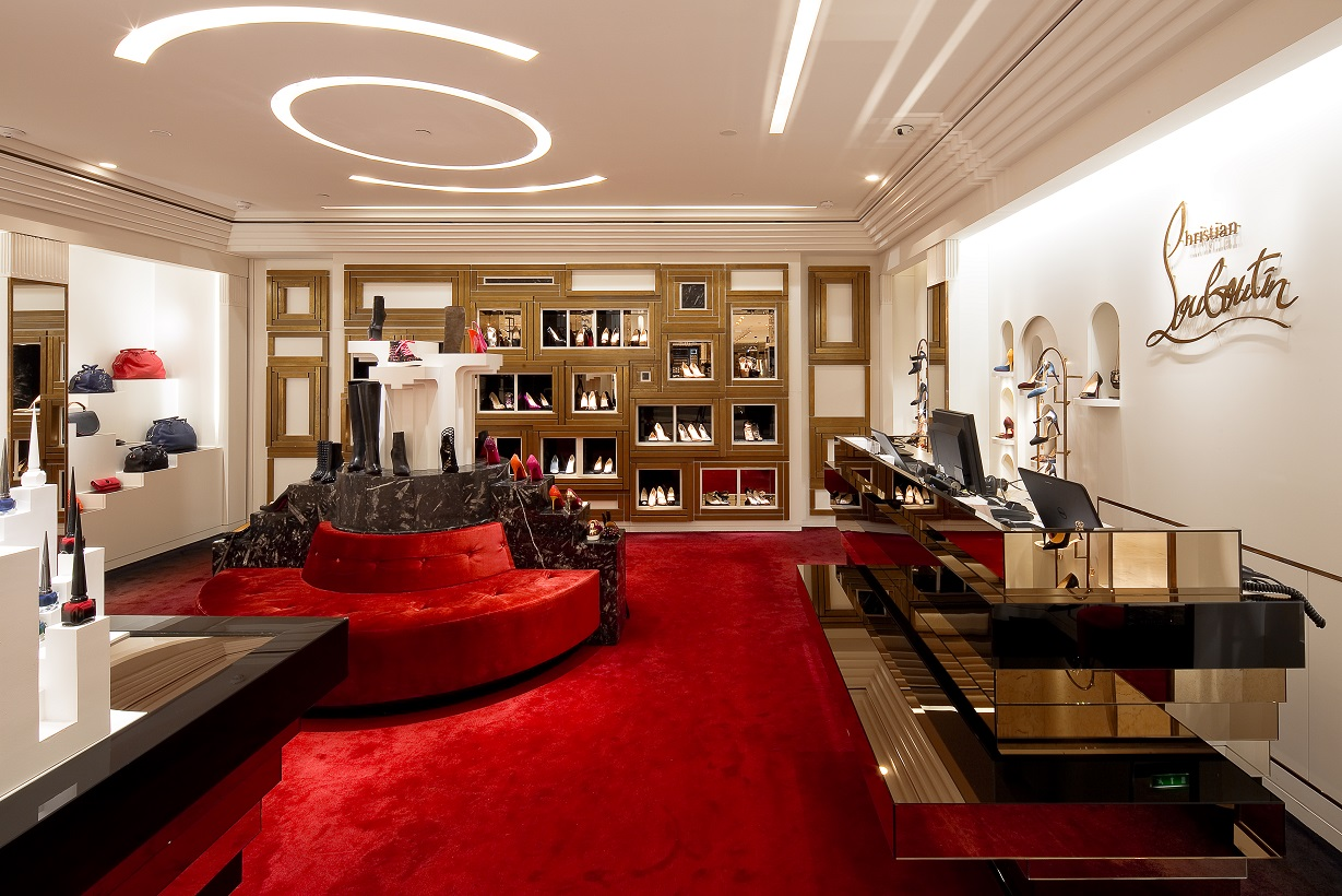 louboutin magasin bordeaux